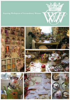 Sue Parker is featured in the latest issue of Where Women Create magazine #studio #artist