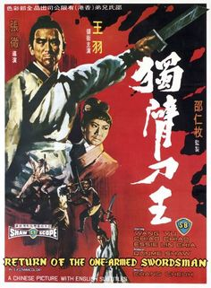 Return Of The One-Armed Swordsman (1968) DVD