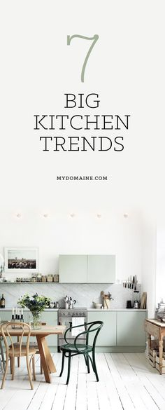 See this trends guide before you start renovating your new or old kitchen