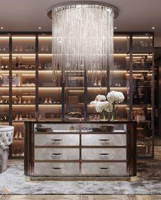 Modern Luxury Bedroom, Luxury Bedroom Design, Luxury Rooms, Luxury Homes Interior, Luxury Home Decor, Luxurious Bedrooms, Luxury Living, Store Interior Design, Luxury Master Bedroom