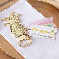 This bottle opener to help make your pina coladas. | 24 Tropical Ways To Get More Pineapples In Your Life