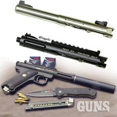 Tactical Solutions' Cascade Pac-Lite Upper | GUNS Magazine Combat .22 Rimfire 2015 Special Edition | CLICK HERE: http://www.fmgpubs.com/22book | #suppressor #tacticalsolutions