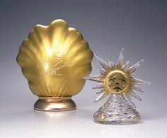 Le Roy Soleil perfume bottle (with packaging) - Elsa Schiaparelli - Designed by Salvador Dali, Glass made by Baccarat. (1946).  Inspired by the court of Louis XIV.