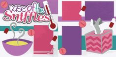 Case Of The Sniffles - Girl Page Kit