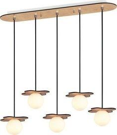 Ράγα οροφής Ertio (Μήκος: 63 Βάθος: 15 Ύψος: 70)  - 86.90 Decor, Lamp, Light, Lighting, Ceiling, Pendant Light, Home Decor, Ceiling Lights