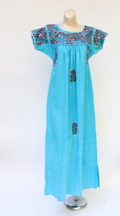 Vintage 1970's Mexican turquoise boho by WindingRoadVintage, $58.00