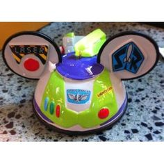 Disney Toy Story Buzz Mickey Mouse Ears Hat Limited Edition Ornament