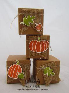 Wednesday, September 17, 2014 PAPERLAND CREATIONS: Artisan Blog Hop Tiny Treat Boxes, Fall Fest