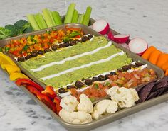 Get in spirit with this game-day appetizer.