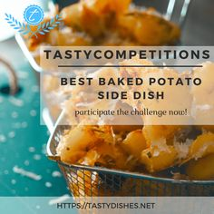 What really completes a meal is the side dish. We are looking for baked potato side dishes that are real game changers! Potato Sides, Potato Side Dishes, Best Baked Potato, Side Dish Recipes, Food Dishes, Competition, Potatoes, Meals, Baking