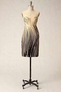 """Anthropologie """"Beach Grass"""" dress by Moulinette Soeurs"""
