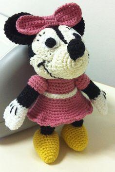 Disney Amigurumi Hello Kitty, Disney, Fictional Characters, Amigurumi, Fantasy Characters, Disney Art