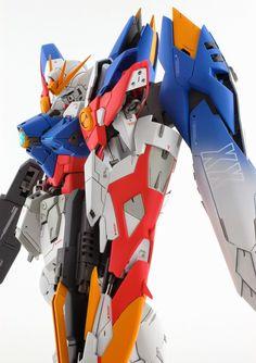 GUNDAM GUY: MG 1/100 Wing Gundam Proto Zero - Customized Build