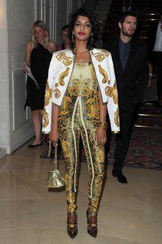 MAYA! in Versace