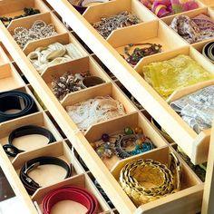 Diverse Storage Ideas For Your Belts    아......이런 함 갖고싶다 정말 ..
