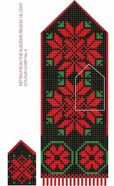 DIY Pattern knitting kits - Everything we offer you has been a long hours patiently handmade! Double Knitting Patterns, Knitted Mittens Pattern, Fair Isle Knitting Patterns, Knit Mittens, Knitted Gloves, Baby Hats Knitting, Knitting Kits, Knitting Charts, Loom Knitting