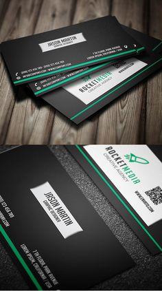 Designers Business Card PSD Templates - 2 #businesscards #psdtemplates #businesscarddesign #premiumbusinesscards