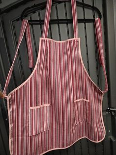 Handmade and available at website. Bbq Apron, Chef Apron, Grilling, Website, Trending Outfits, Unique Jewelry, Handmade Gifts, Pink, Crafts