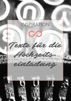 Es ist nicht immer leicht, die richtigen Worte zu finden. Dies trifft natürlich auch auf die Gestaltung der Hochzeitseinladung zu. Wir haben euch wunderschöne Texte für die Hochzeitseinladung zusammengetragen. #hochzeit #heirat #wedding #weddings #invitation #einladung #planung #inspiration #drucksorten #stationary