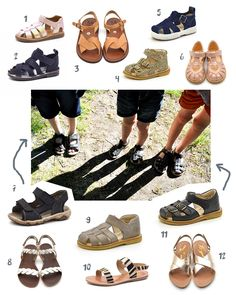 Schöne Sandalen für