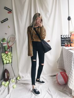 Super Ideas for fashion winter indie casual Grunge Fashion, Cute Fashion, 90s Fashion, Daily Fashion, Korean Fashion, Fashion Outfits, Casual Fall Outfits, Cute Outfits, College Outfits
