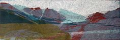 New Blood Art | Altai Mountains - Multilayer by Natalia Tarnawa | Buy Original Art Online | Artworks by Emerging Artists for Sale