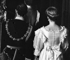 1984-11-06 Diana and Charles at the State Opening of Parliament in Westminster