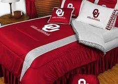 Oklahoma Sooners NCAA Bedding - Sidelines Comforter and Sheet Set Combo by Sports Coverage. $103.49. This is a great Oklahoma Sooners NCAA Bedding Comforter and Sheet set combination! Buy this Microfiber Sheet set with the Comforter and save off our already discounted prices. Show your team spirit with this great looking officially licensed Comforter which comes in new design with sidelines. This comforter is made from 100% Polyester Jersey Mesh - just like what the players ...