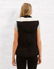 Sherpa Puffer Vest