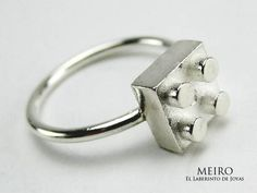 Ring, blocks, sterling silver. Fotos y videos de MEIRO JOYAS (@Meiro_joyas) | Twitter www.meirojoyas.com