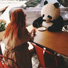Hot date with a panda