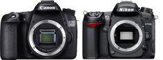 Comparatif Nikon D7100 - Canon EOS 70D #nikon #D7100 #canon #EOS70D #canon70D