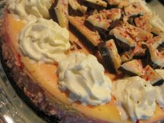 Anne Strawberry: TWD- Tall and Creamy (Peppermint Bark) Cheesecake