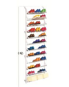 36 Pair Over Door Shoe Rack