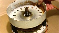 Ceiling Fan to Wind generator conversion demo