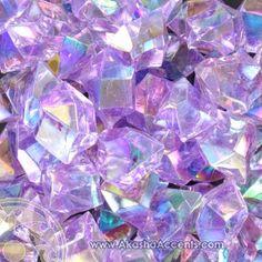 Lilac Iridescent Sparkling Jewels