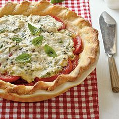 Tomato Pie | MyRecipes.com