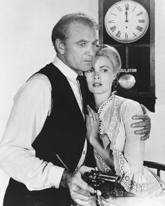 GARY COOPER & GRACE KELLY HIGH NOON