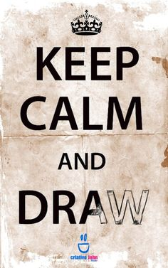 keep calm.... - Click image to find more Illustrations & Posters Pinterest pins