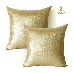 sequin pillow covers inch2 pack square gold sequin pillow case