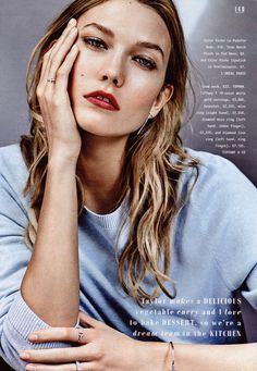 """The Sunday Times Style """"Decoding Karlie"""""""