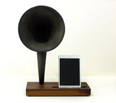 iHorn  iPad  iPad mini  iPhone  Acoustic  Speaker by woodguy32, $399.00