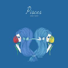【 雙魚座 Pisces,02/19~03/20 】  喜歡思考和分析,沒有絕對的對與錯。 很纖細敏感,能靈敏的察覺別人的需要, 但卻容易糟蹋自己。