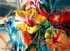Рисунки цветов. Vie Dunn-Harr