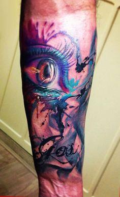 Tattoo Artist - Antonio Proietti - eyes tattoo | www.worldtattoogallery.com