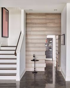 Pulp Design Studios created a sophisticated modern home with original personality in a Gelotte Hommas Drivdahl home, through full-service interior design Off Center Windows, Built In Dresser, Pulp, Terrazzo Flooring, Unique Wallpaper, Gambrel, Wood Detail, Rustic Contemporary, Classic House