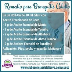 Remedio bronquitis adulto Essential Oil Recipies, Essential Oils For Colds, Essential Oil Uses, Esential Oils, Doterra Recipes, Doterra Oils, Natural Health Remedies, Alternative Health, Young Living