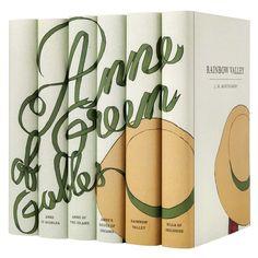 Juniper Books - Anne Of Green Gables Book Set At AHA