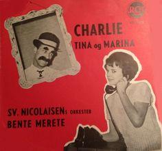 """""""Tina og Marina"""" med Bente Merete. Dansk version af """"Zwei kleine Italierner""""."""