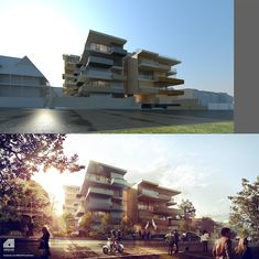 Arqui9 - Architectural Visualisation - Latest Visuals on Behance